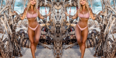 Modelo Larissa Wambier